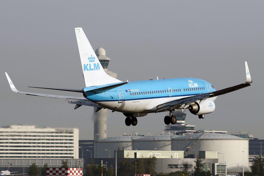 PH BGK Boeing 737 700 KLM Royal Dutch Airlines Noordse Stormvogel Fulmar