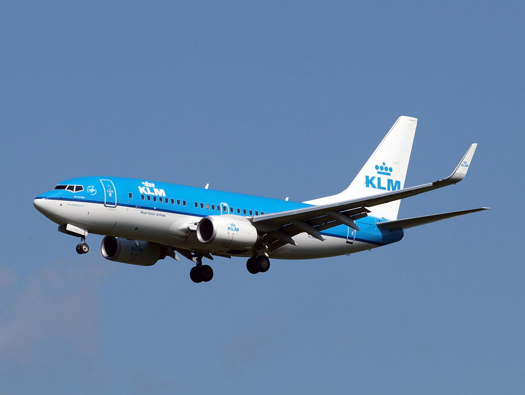 PH BGN KLM Royal Dutch Airlines Boeing 737 700 Jan van Gent Gannet at Amsterdam airport Schiphol