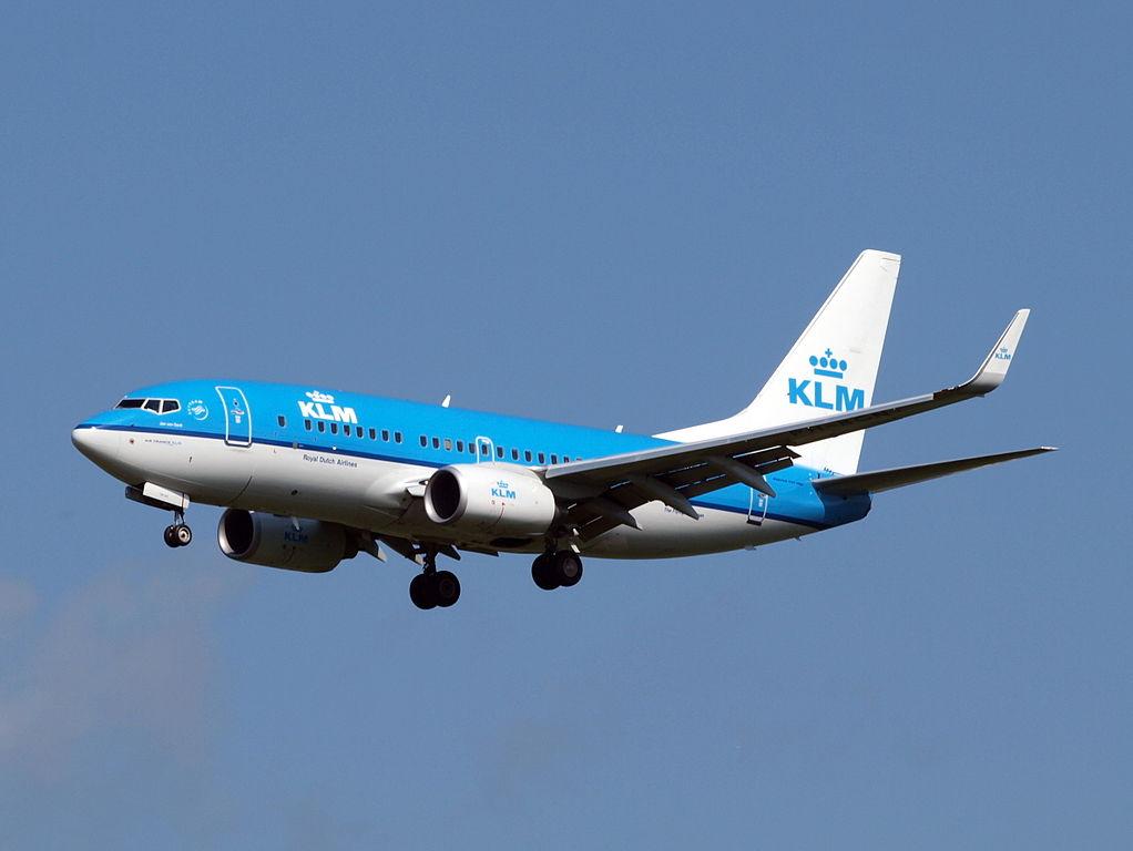 PH BGN KLM Royal Dutch Airlines Boeing 737 700 Jan van Gent Gannet at Amsterdam airport Schiphol