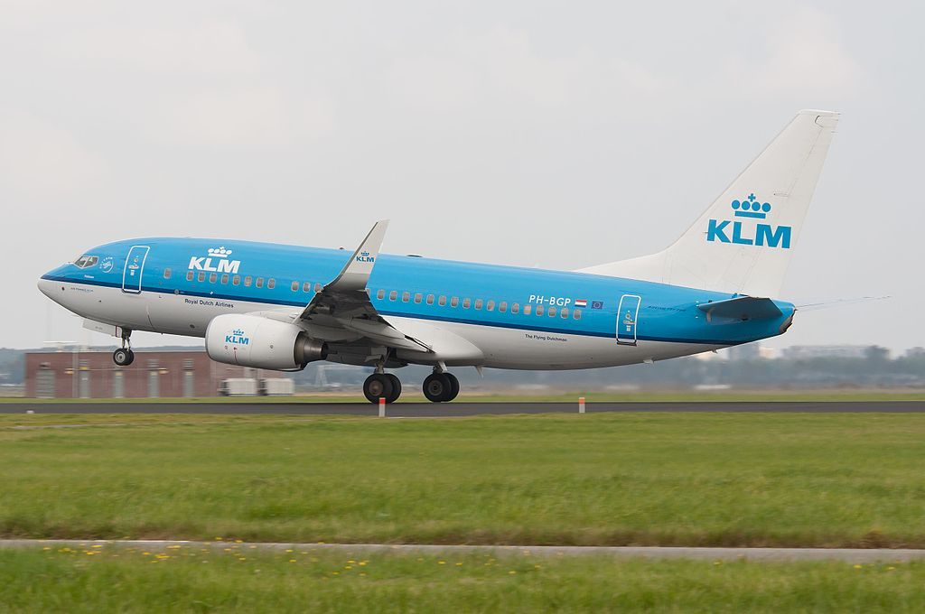 PH BGP Boeing 737 700 of KLM Pelikaan Pelican at Amsterdam Airport Schiphol