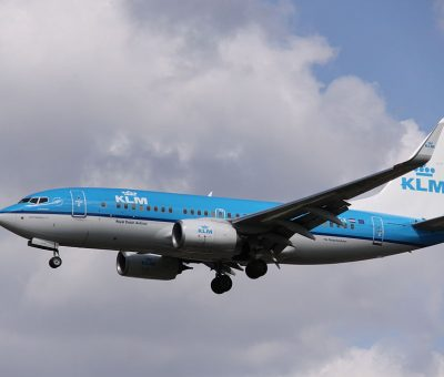 PH BGX Boeing 737 700WL KLM Royal Dutch Airlines Scholekster Oystercatcher at London Heathrow Airport