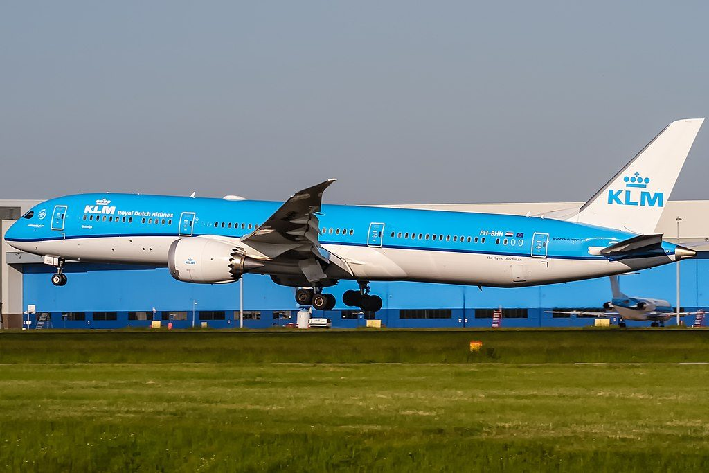 PH BHH KLM Royal Dutch Airlines Boeing 787 9 Dreamliner Jasmijn Jasmine at Amsterdam Schiphol