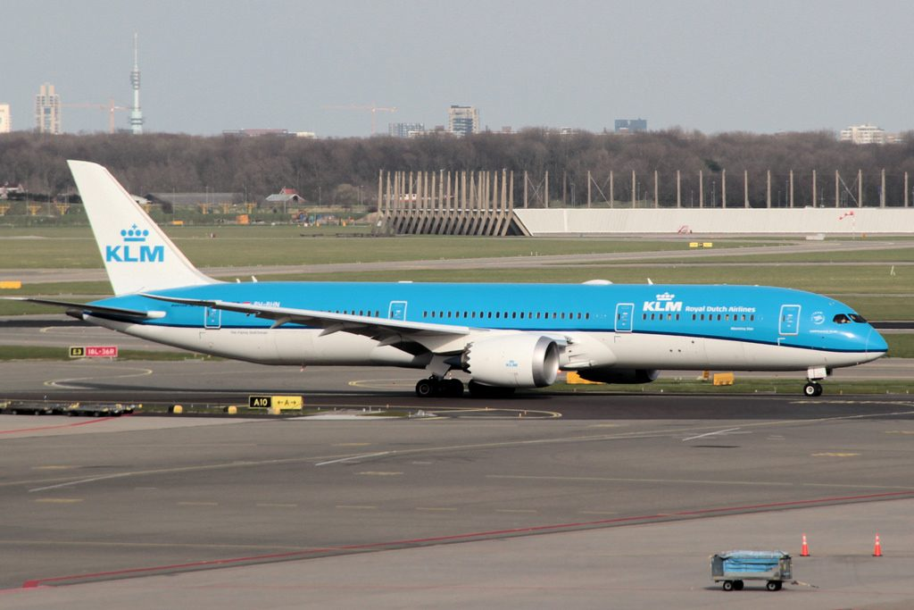 PH BHN Boeing 787 9 Dreamliner Morgenster Morning Star KLM at Amsterdam Schiphol