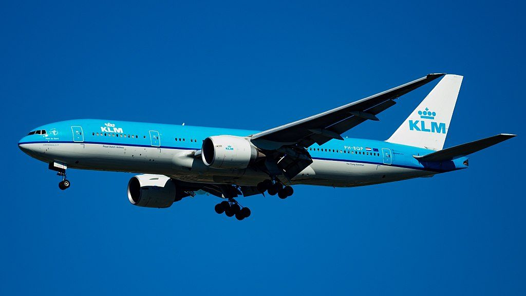 PH BQP Boeing 777 200ER KLM Pont du Gard at John F. Kennedy International Airport