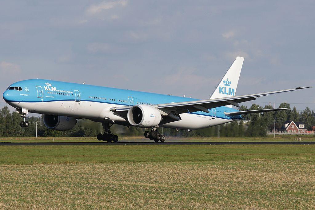 PH BVN KLM Royal Dutch Airlines Boieng 777 300ER Tijuca National Park at Amsterdam Airport Schiphol