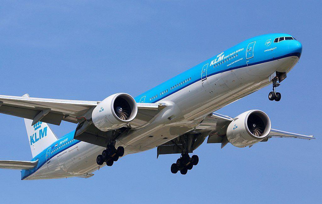 PH BVR Boeing 777 300ER of KLM Nationaal Park Gunung Mulu at Taiwan Taoyuan International Airport