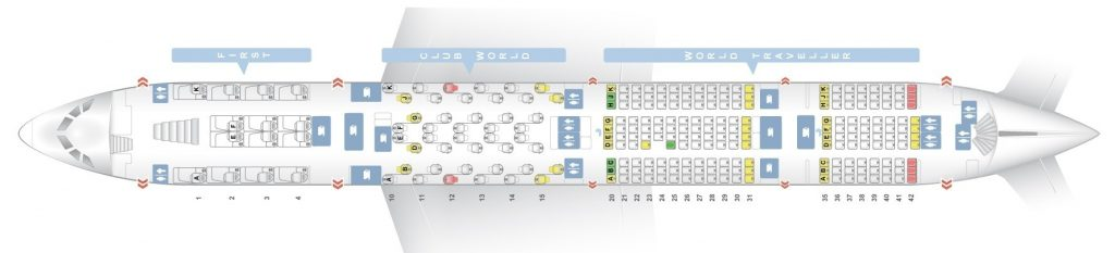 Seat Map and Seating Chart Airbus A380 800 Lower Deck British Airways