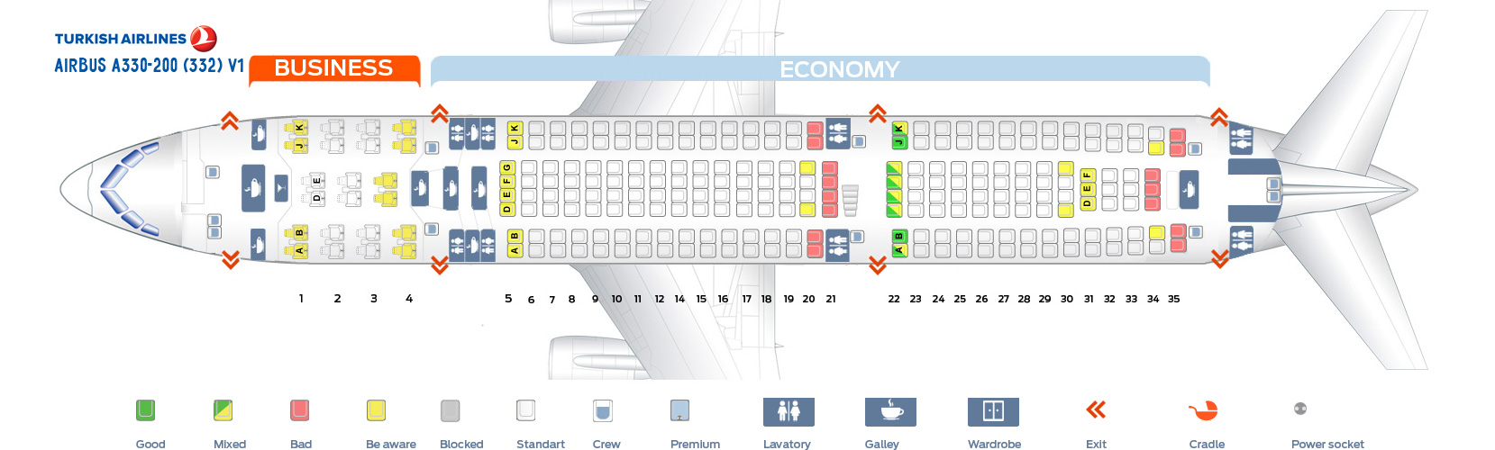 Hawaiian Airlines Airbus A332 Seat Map Awesome Home
