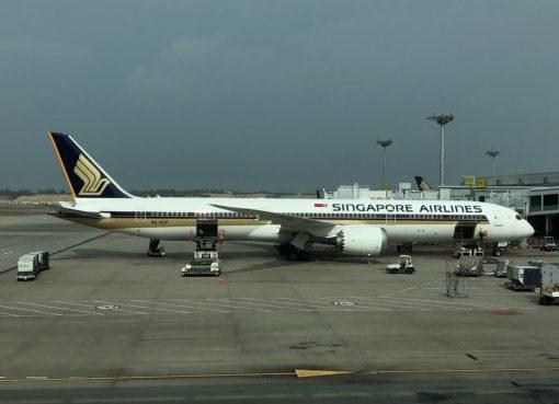 Singapore Airlines 9V SCF Boeing 787 10 Dreamliner Photos
