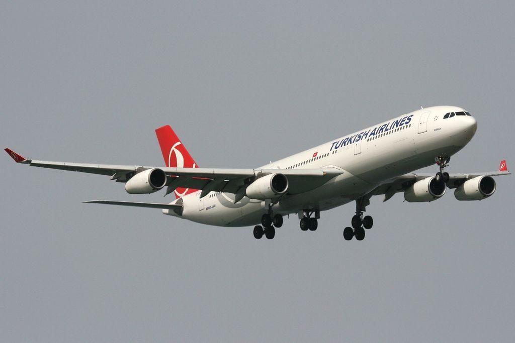 TC JII Airbus A340 313X Mersin Turkish Airlines at Istanbul Atatürk Airport