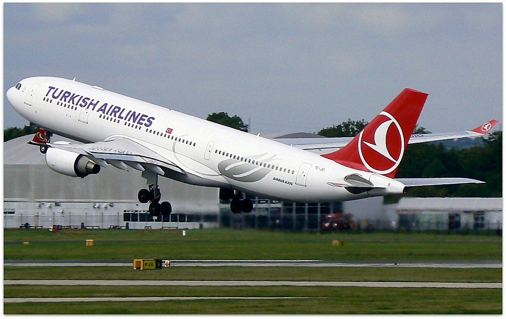 TC JIO Airbus A330 200 Eskişehir of Turkish Airlines at Manchester Airport