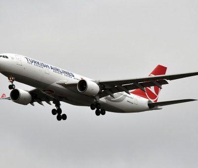 TC JIP Airbus A330 200 Lale Tulip of Turkish Airlines at Paris Charles de Gaulle Airport