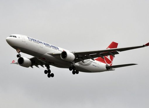 TC JIP Airbus A330 200 Lale Tulip of Turkish Airlines at Paris Charles de Gaulle Airport
