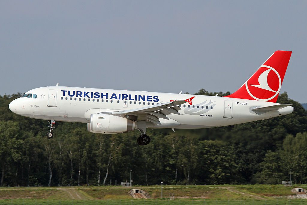 TC JLT Airbus A319 132 Adilcevaz of Turkish Airlines at Hannover Airport