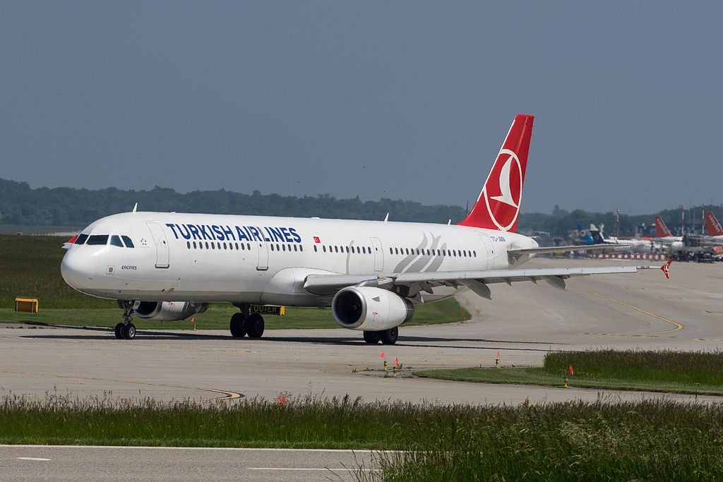 TC JMM Airbus A321 231 Turkish Airlines Karabük at Geneva International Airport