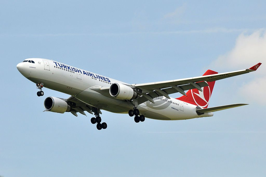 TC JNA Airbus A330 200 Gaziantep of Turkish Airlines at Paris Charles de Gaulle Airport