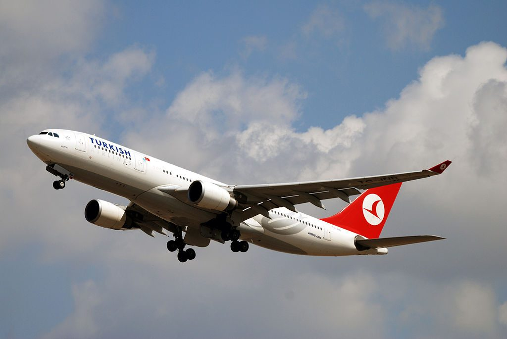 TC JNB Airbus A330 200 Konya of Turkish Airlines at London Heathrow Airport