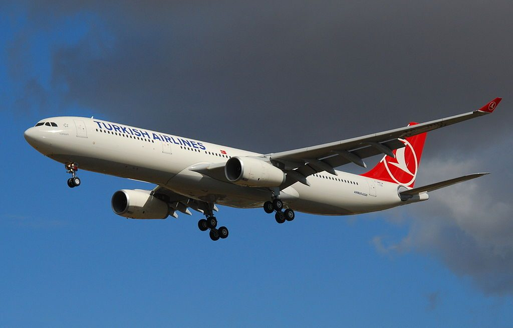TC JNH Airbus A330 300 Topkapı of Turkish Airlines at Toulouse Blagnac International Airport