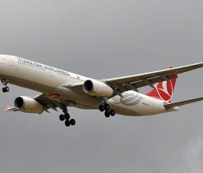 TC JNR Airbus A330 300 Haliç Golden Horn of Turkish Airlines at Paris Charles de Gaulle Airport