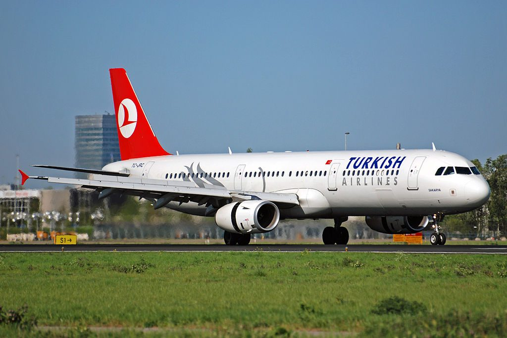TC JRC Turkish Airlines Airbus A321 231 Gerede at Amsterdam schiphol airport EHAM