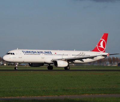TC JRD Turkish Airlines Airbus A321 231 Balıkesir takeoff from Polderbaan Schiphol AMS EHAM