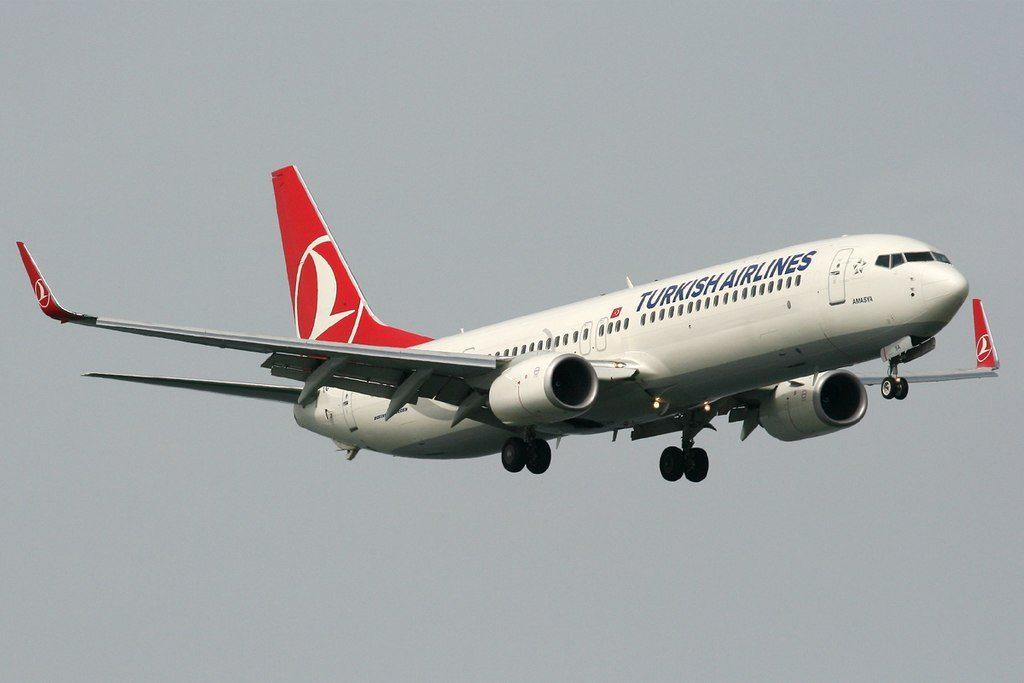 TC JYA Boeing 737 9F2ER Selçuk Turkish Airlines at Istanbul Atatürk Airport
