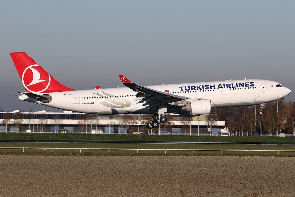 Turkish Airlines Airbus A330 200 TC LOH at Amsterdam Schiphol