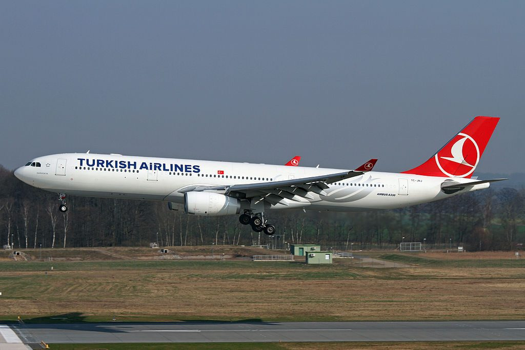 Turkish Airlines Airbus A330 300 TC JNJ Kapadokya