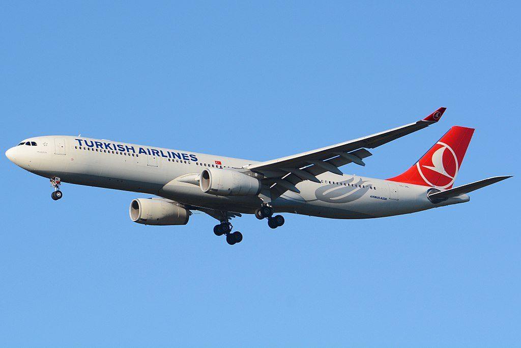 Turkish Airlines Airbus A330 300 TC JNL Trabzon at Narita International Airport