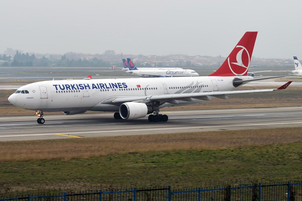 Turkish Airlines TC JIM Airbus A330 203 Erenköy at Istanbul Atatürk Airport