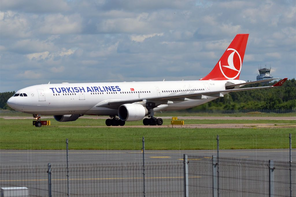 Turkish Airlines TC JIT Airbus A330 223 at Tallinn Airport