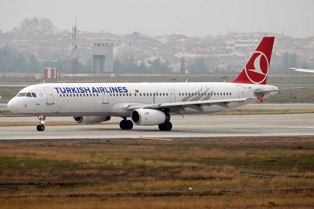 Turkish Airlines TC JMH Airbus A321 231 Didim at Istanbul Atatürk Airport