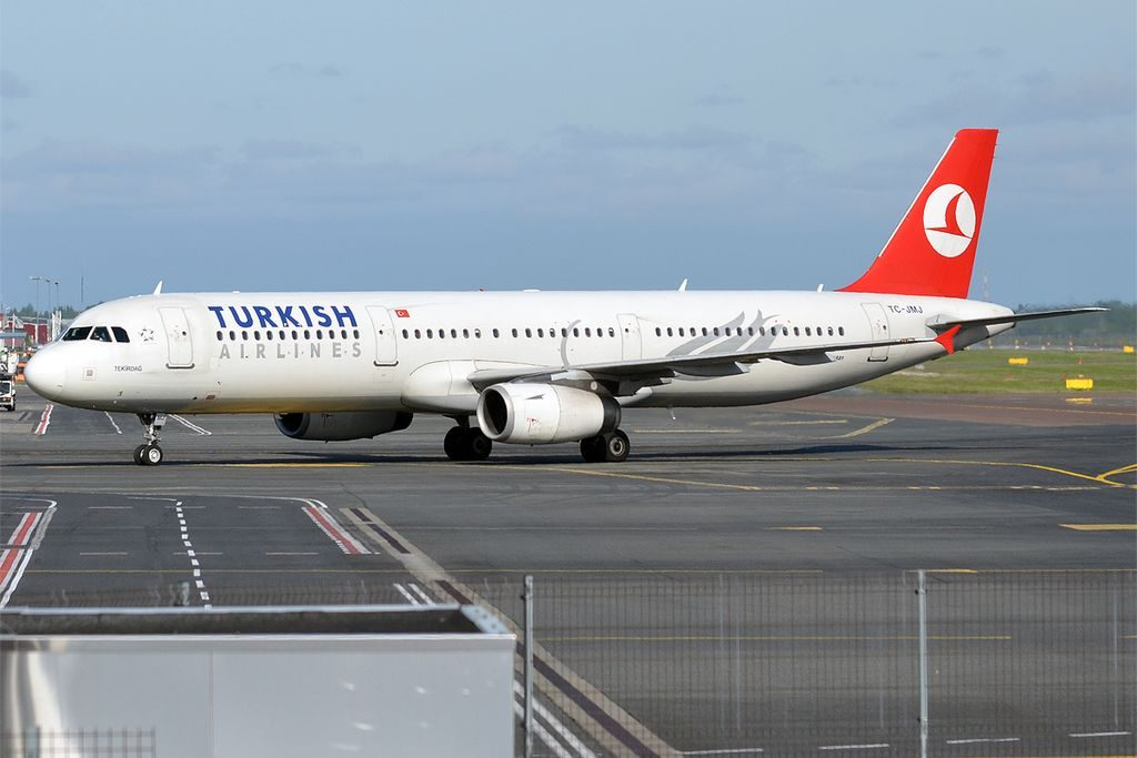 Turkish Airlines TC JMJ Airbus A321 231 Tekirdağ at Tallinn Airport