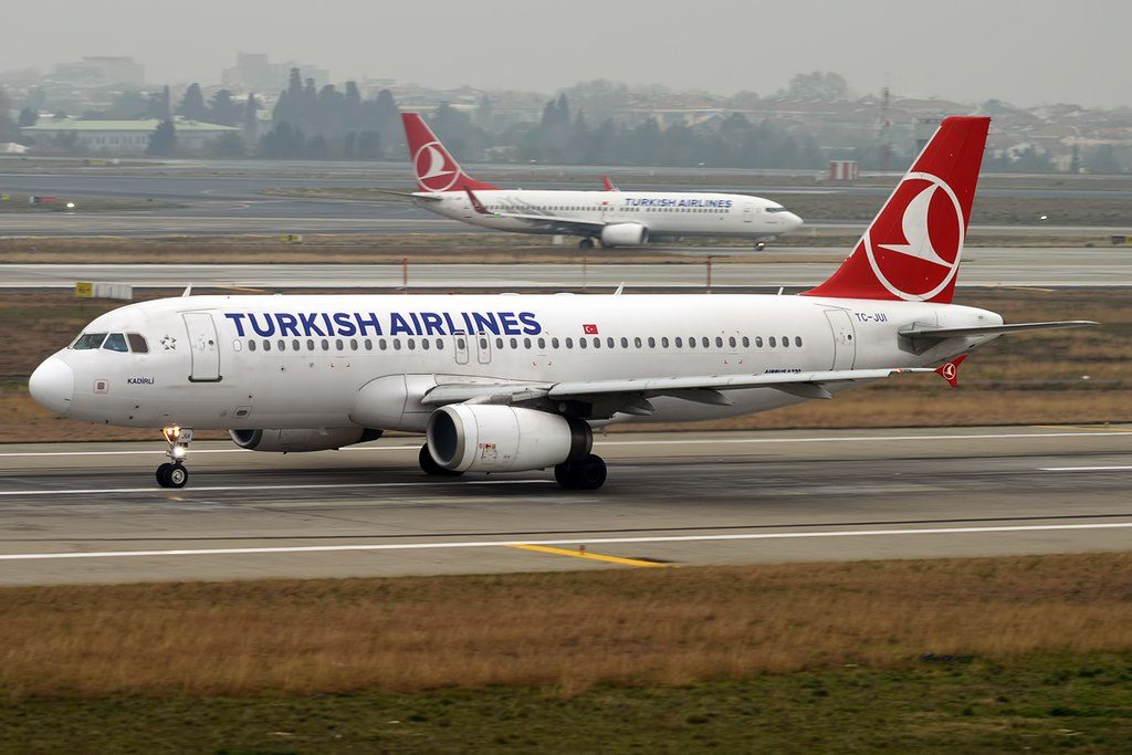 Turkish Airlines TC JUI Airbus A320 232 Kadirli at Istanbul Atatürk Airport