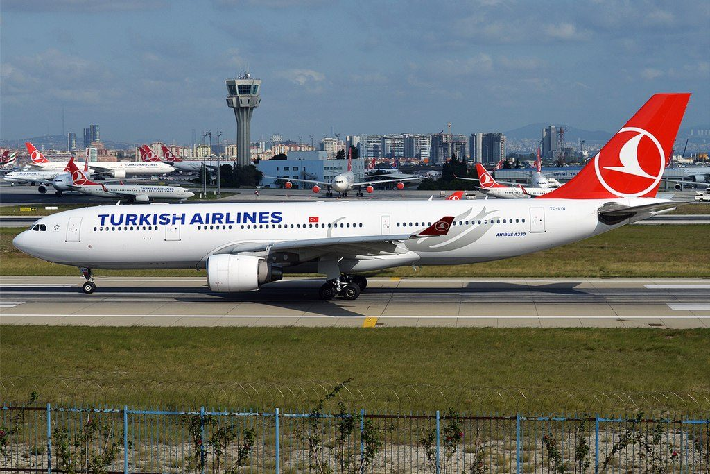 Turkish Airlines TC LOI Airbus A330 223 at Istanbul Atatürk Airport
