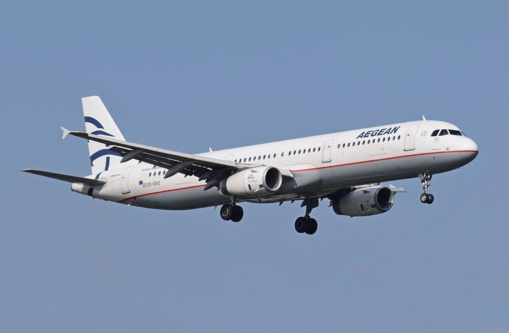 Aegean Airbus A321 231 SX DVO arrives London Heathrow Airport