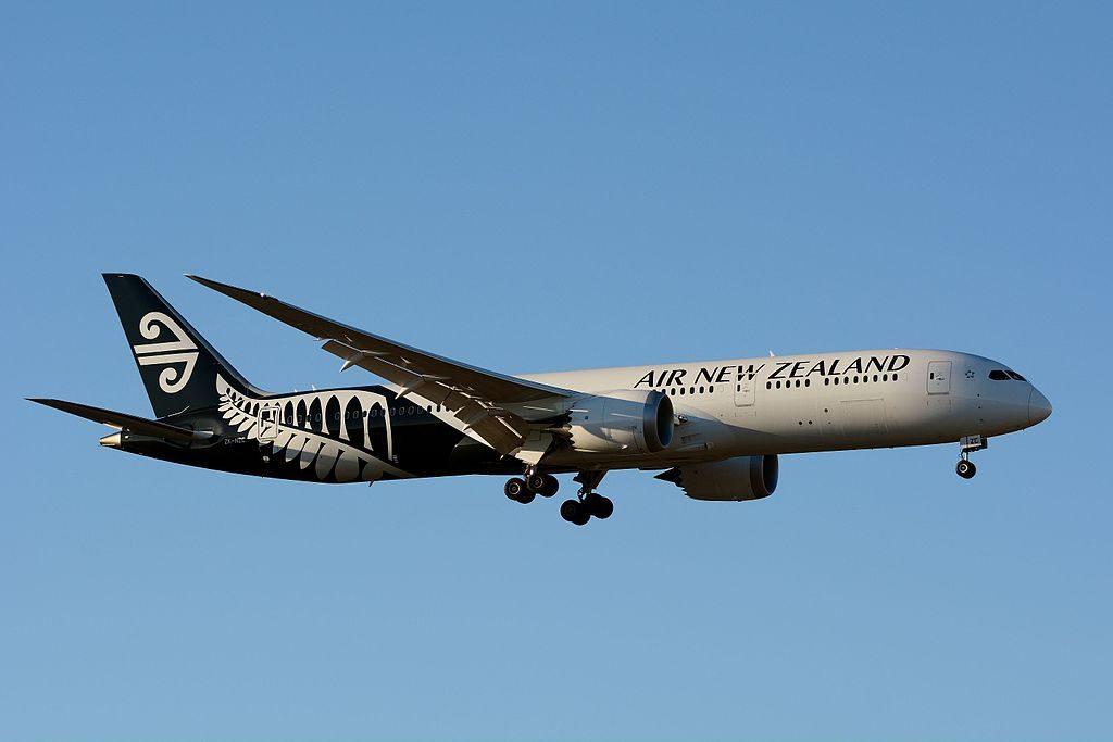 Air New Zealand Boeing 787 9 Dreamliner ZK NZC at Narita International Airport