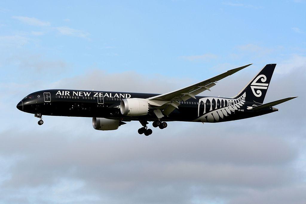 Air New Zealand Boeing 787 9 Dreamliner ZK NZE All Blacks at Narita International Airport