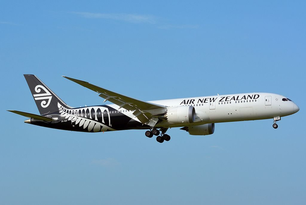 Air New Zealand Boeing 787 9 Dreamliner ZK NZF at Narita International Airport
