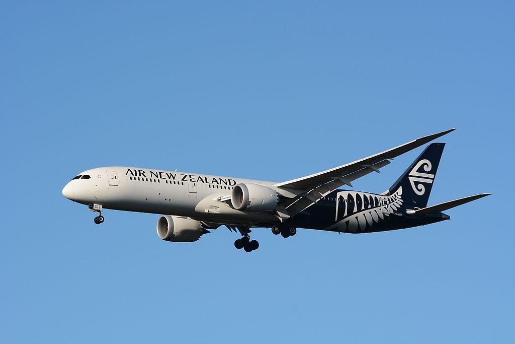 Air New Zealand Boeing 787 9 Dreamliner ZK NZG at Narita International Airport