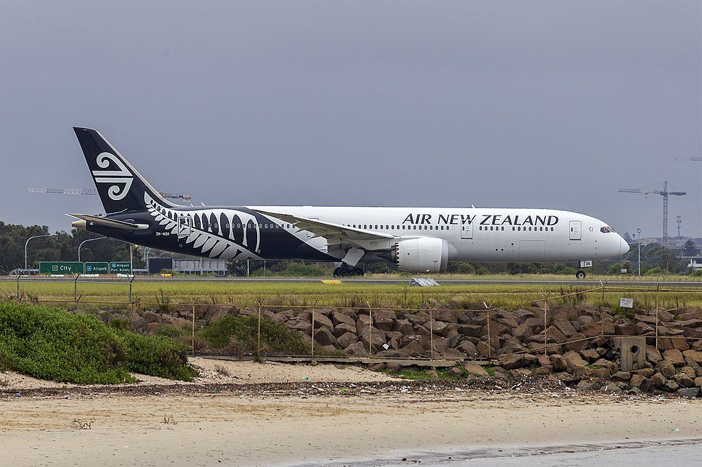 Air New Zealand ZK NZK Boeing 787 9 Dreamliner at Sydney Airport