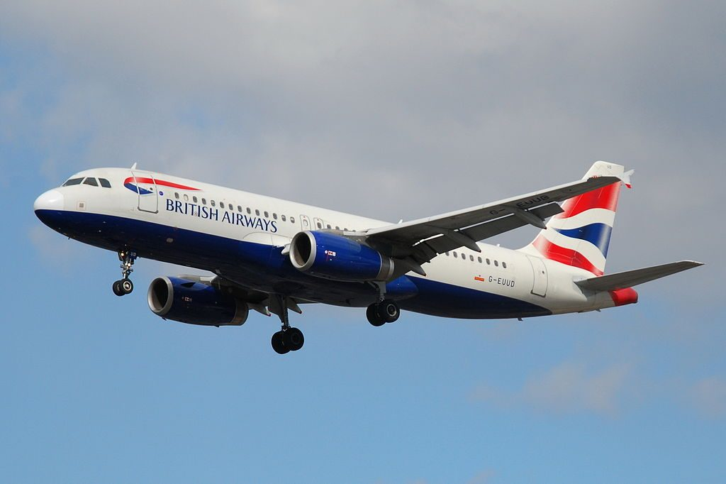 Airbus A320 200 British Airways G EUUD at London Heathrow Airport