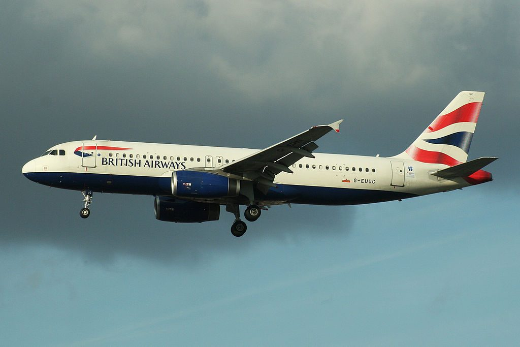 Airbus A320 232 G EUUC British Airways at London Heathrow Airport