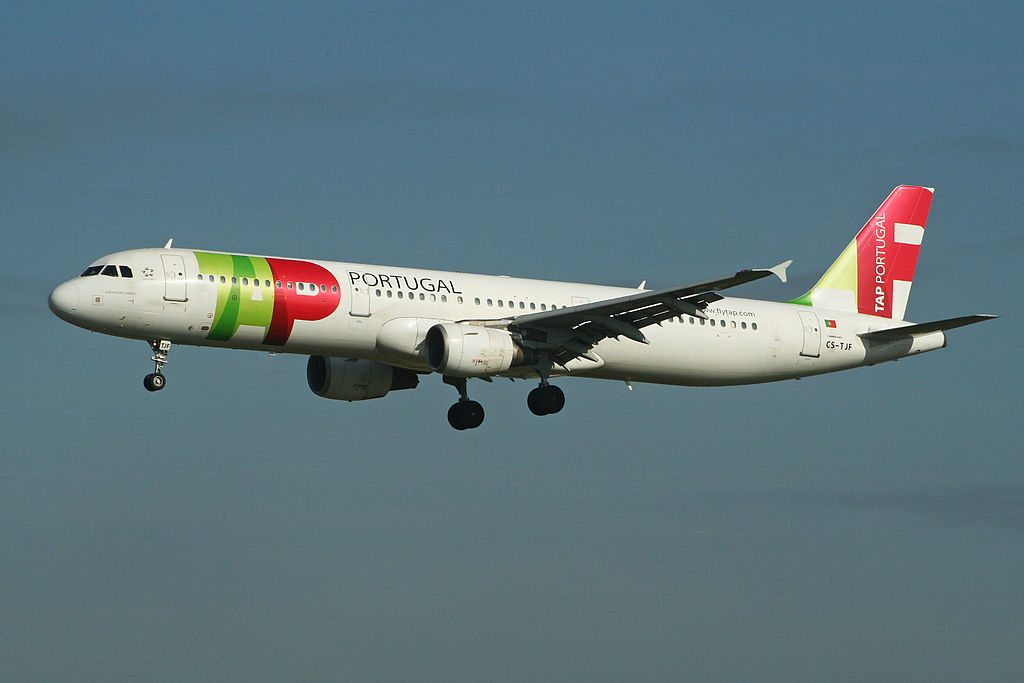 Airbus A321 211 TAP Portugal CS TJF Luis Vaz de Camoes at London Heathrow Airport