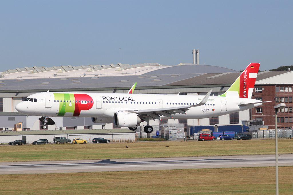 Airbus A321neo TAP Air Portugal CS TJJ Gonçalo Velho Cabral