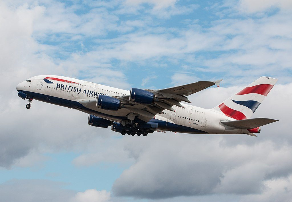 Airbus A380 800 British Airways G XLEC at London Heathrow Airport