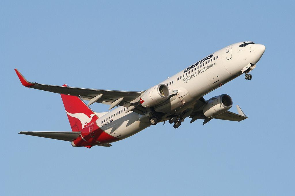 Boeing 737 838WL Qantas VH VXD Tenterfield at Adelaide Airport
