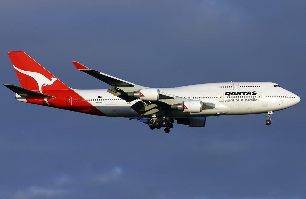 Boeing 747 438ER Qantas VH OEF Sydney at Melbourne Airport