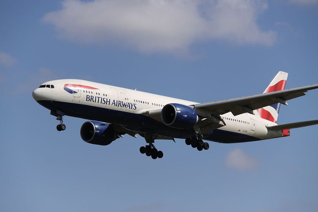 Boeing 777 200ER British Airways G VIIF at London Heathrow Airport