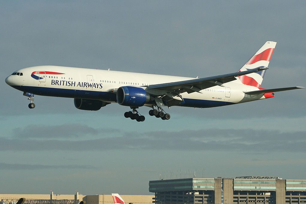 Boeing 777 236ER G RAES British Airways at London Heathrow Airport